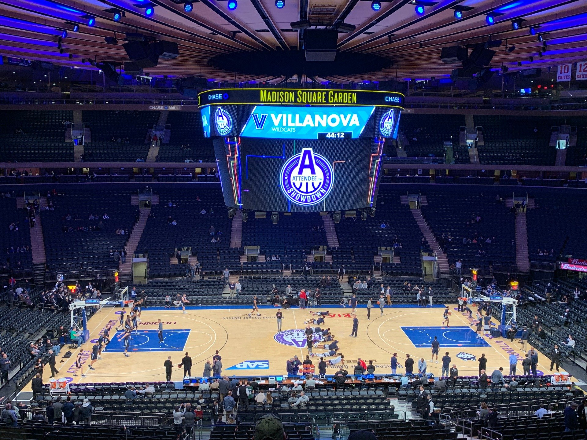 Madison Square Garden Section 211 Row 6 Seat 3