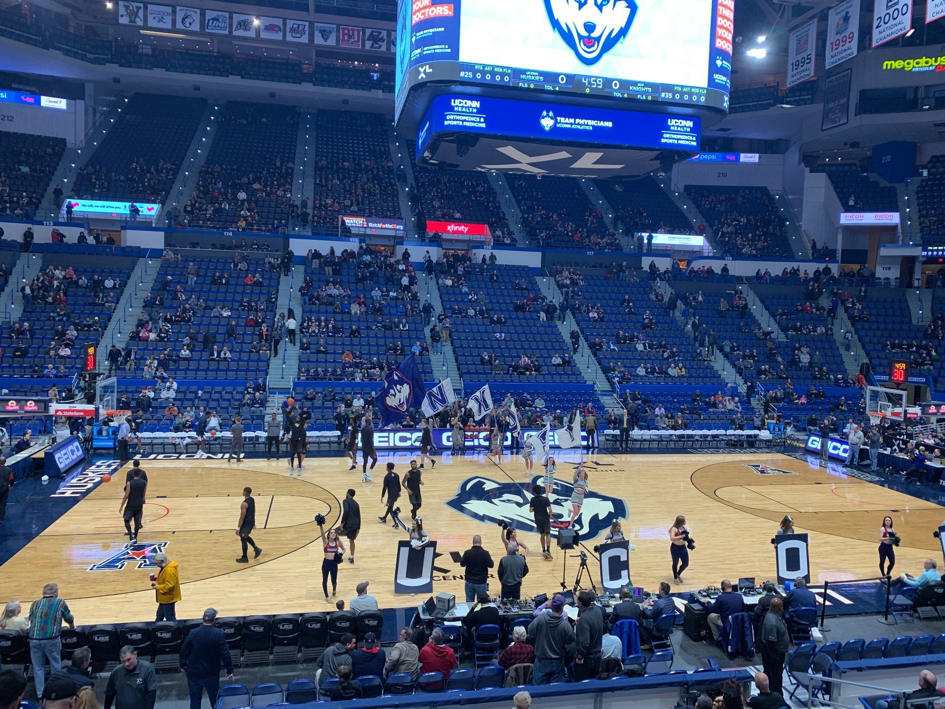 XL Center Section 104 Row P Seat 13