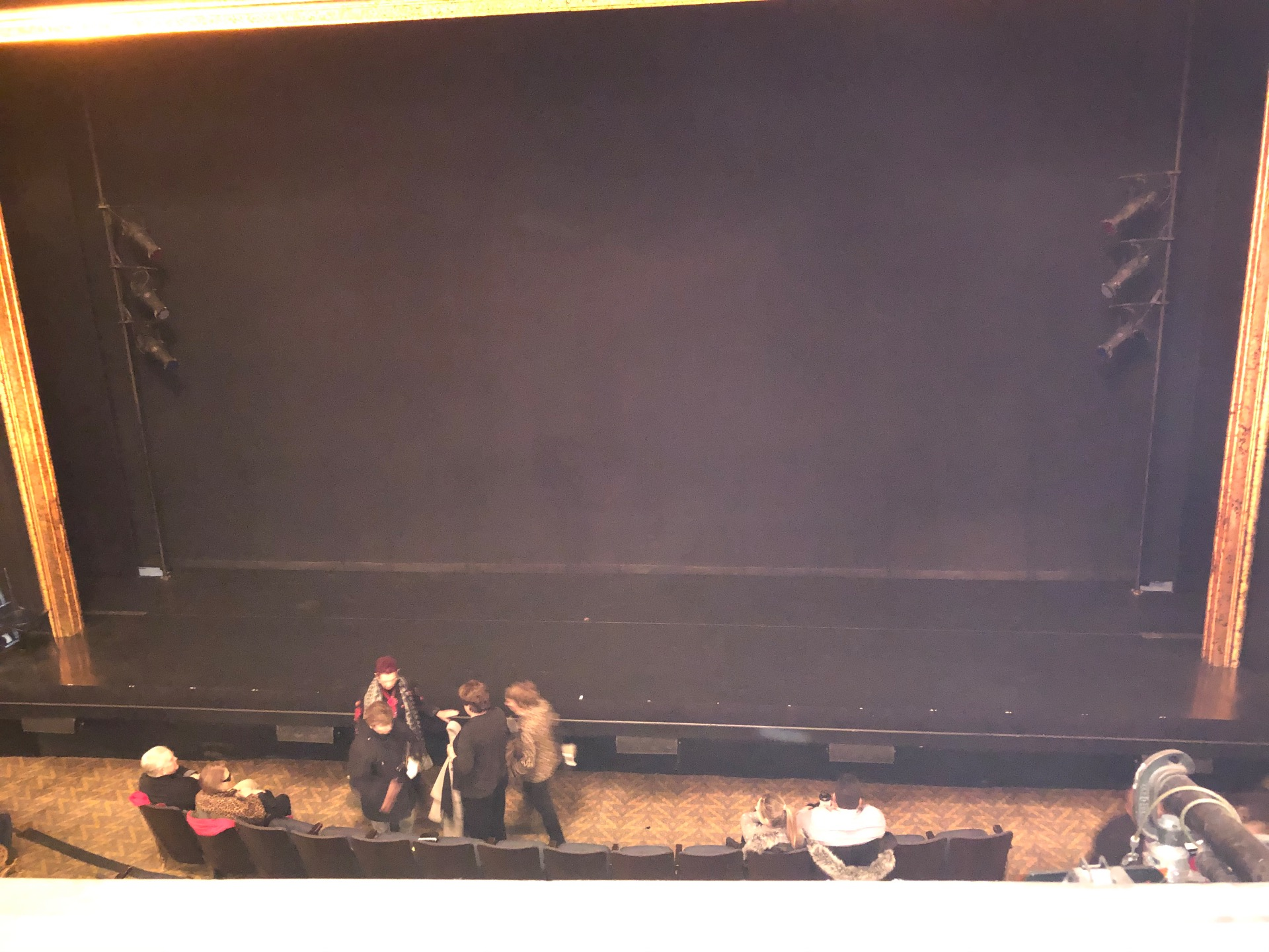Ambassador Theatre Section Front Mezzanine RC Row A Seat 106
