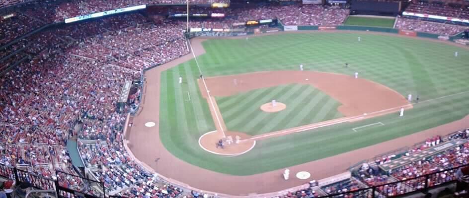 Busch Stadium Section 347 Row wc Seat 5