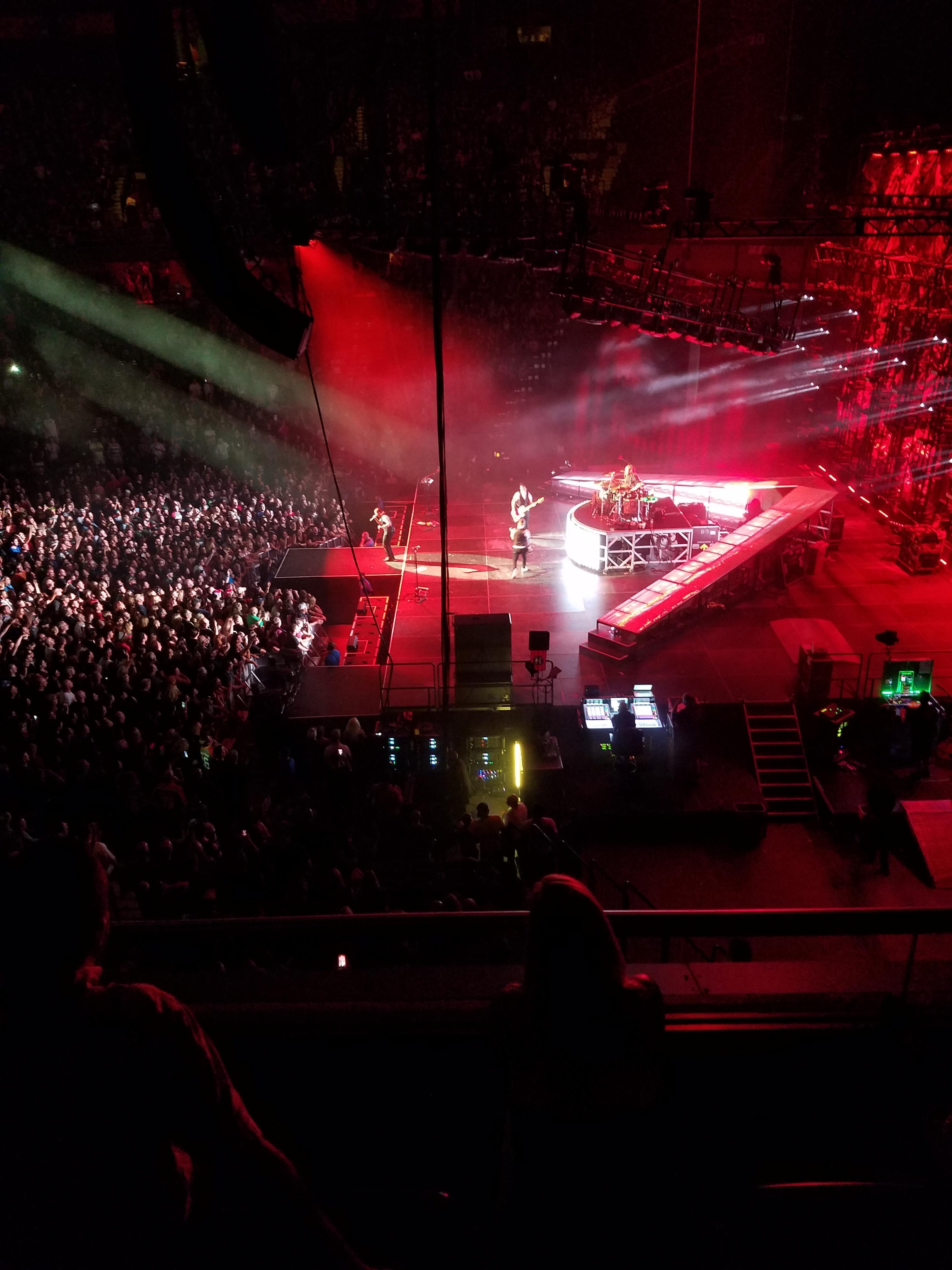 Mohegan Sun Arena Section 105 Row C Seat 6