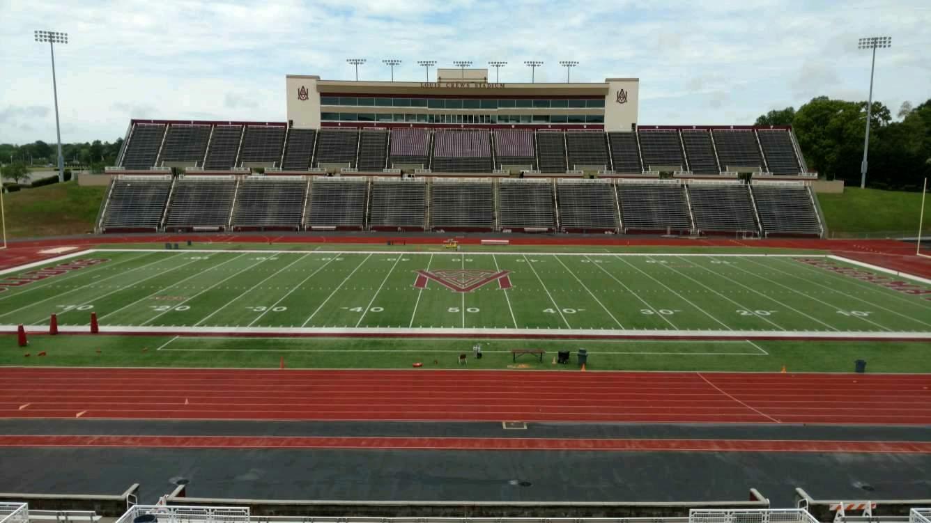 Louis Crews Stadium Section 22 Row 30 Seat 17