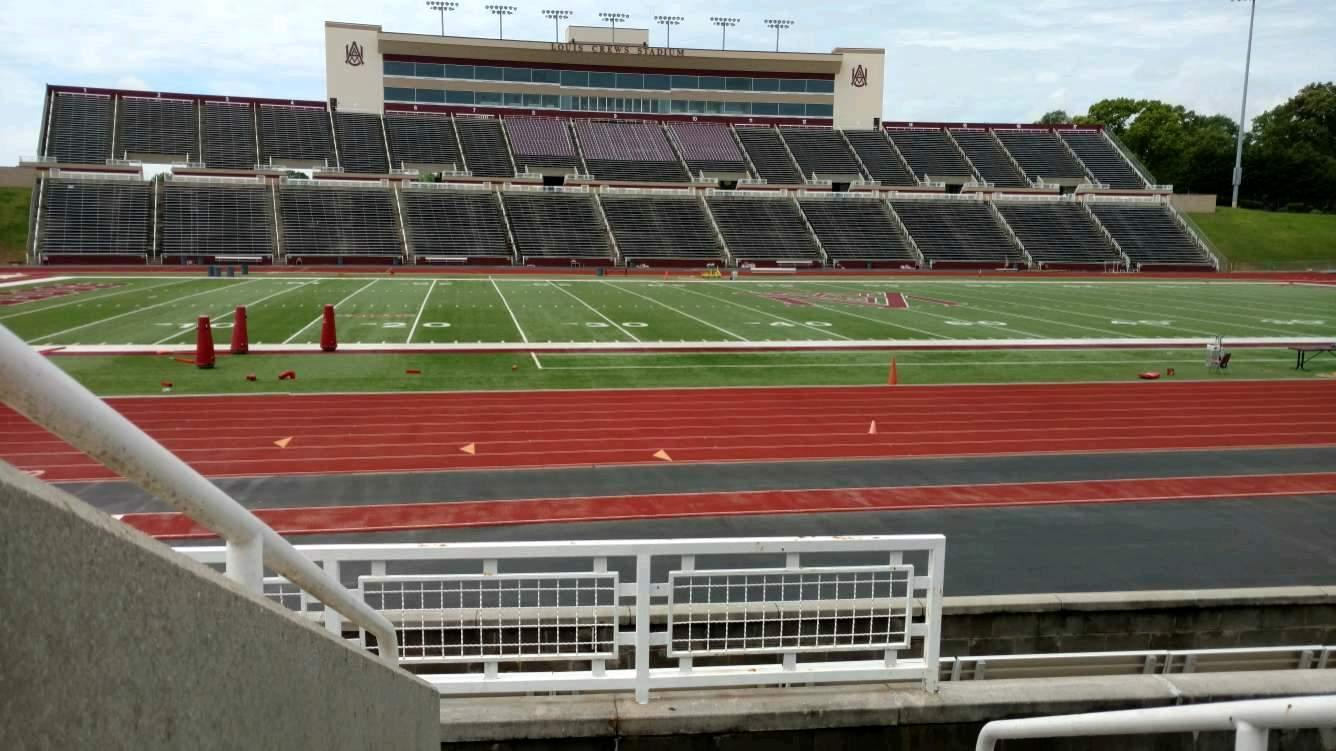 Louis Crews Stadium Section 25 Row 5 Seat 1