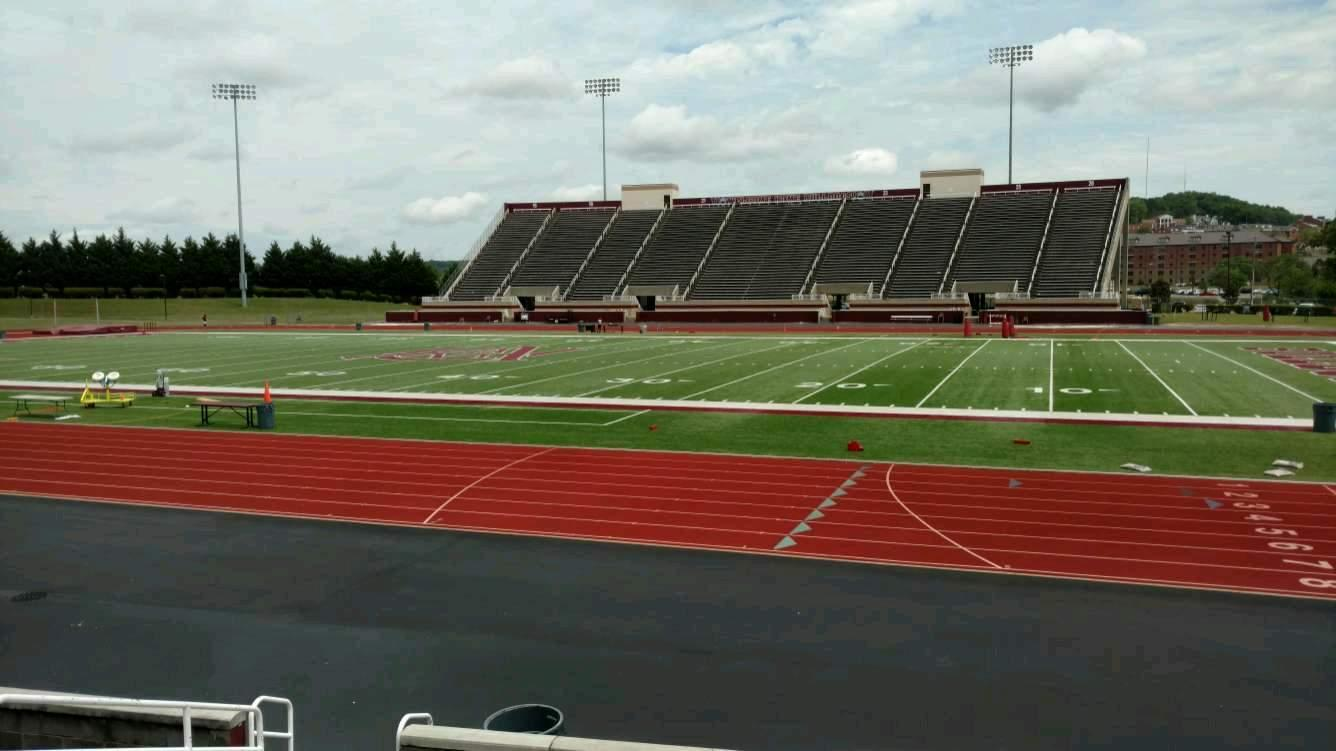 Louis Crews Stadium Section C Row 10 Seat 19