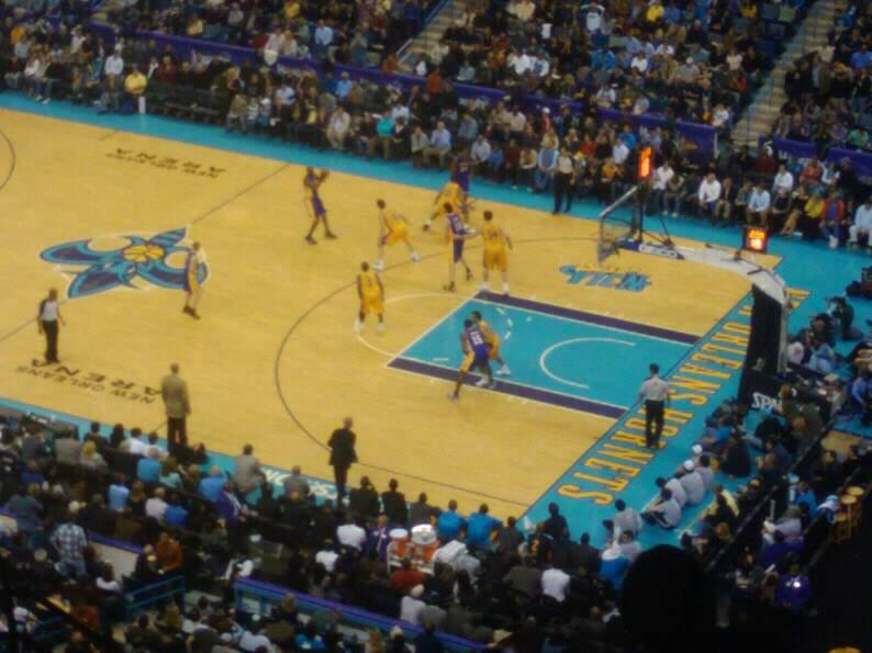 Smoothie King Center Section 313 Row 14 Seat 12