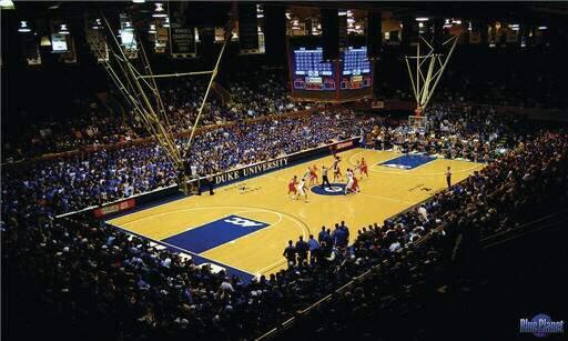 Cameron Indoor Stadium Section 32 Row G Seat 18