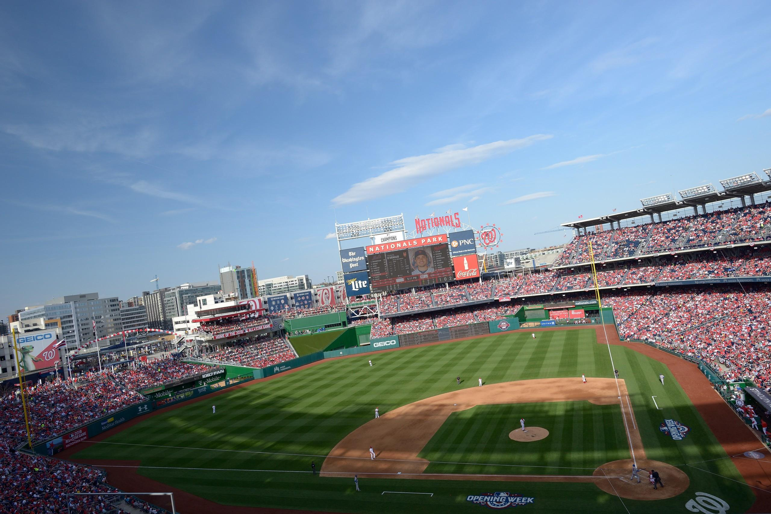 Nationals Park Section 310 Row D Seat 18