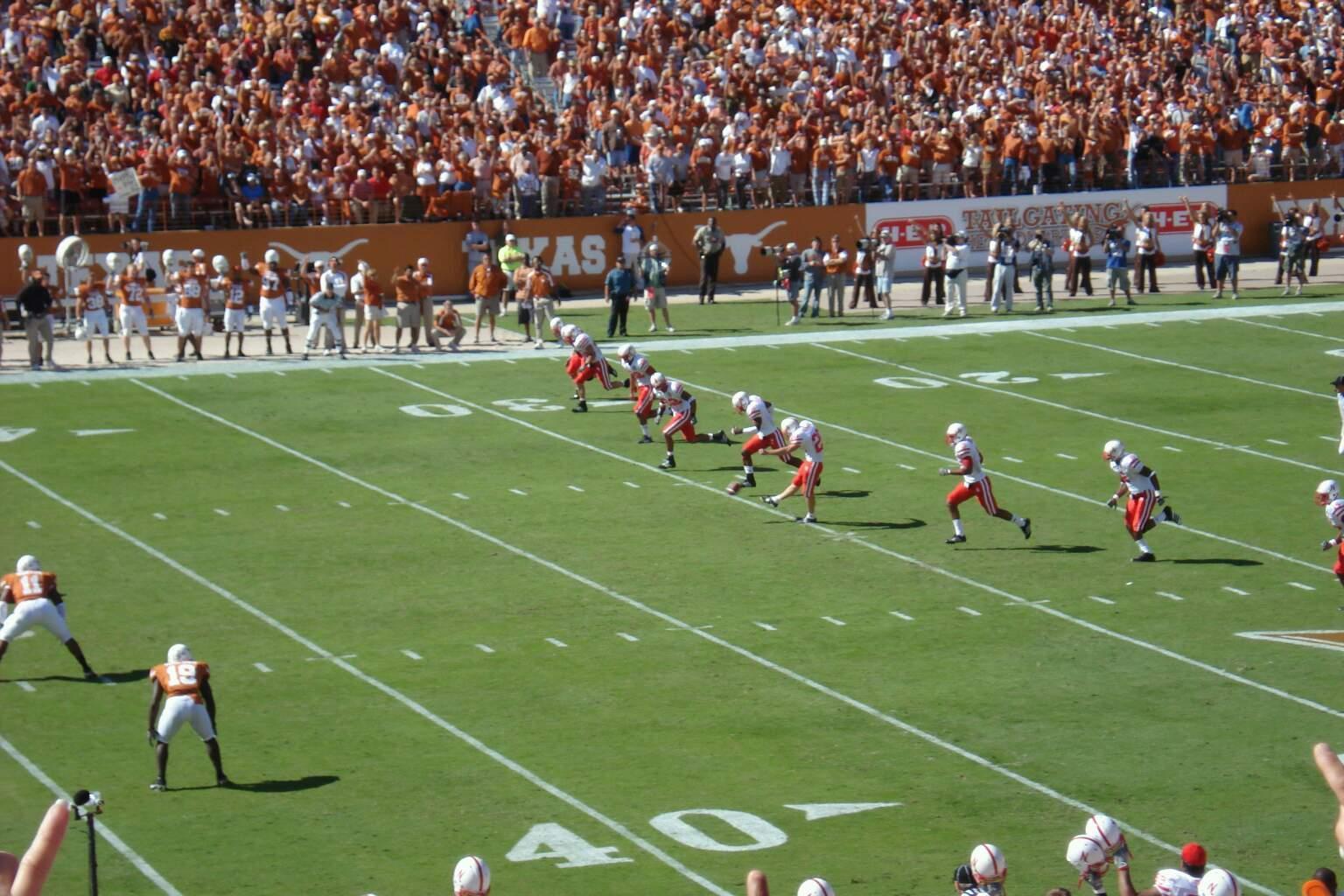 Texas Memorial Stadium Section 29