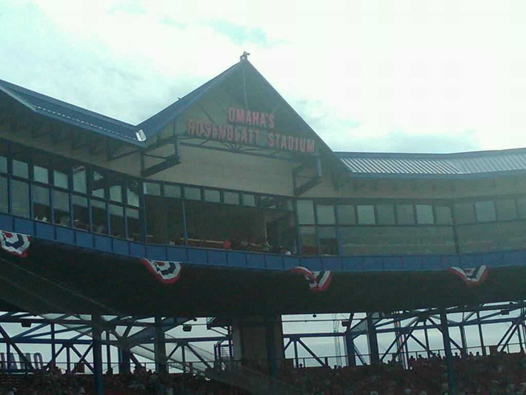 Rosenblatt Stadium Section 15 Row A Seat 1