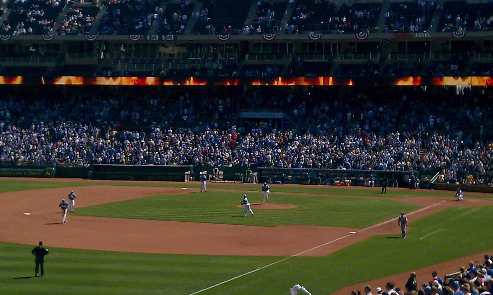 Kauffman Stadium Section 209 Row KK Seat 13