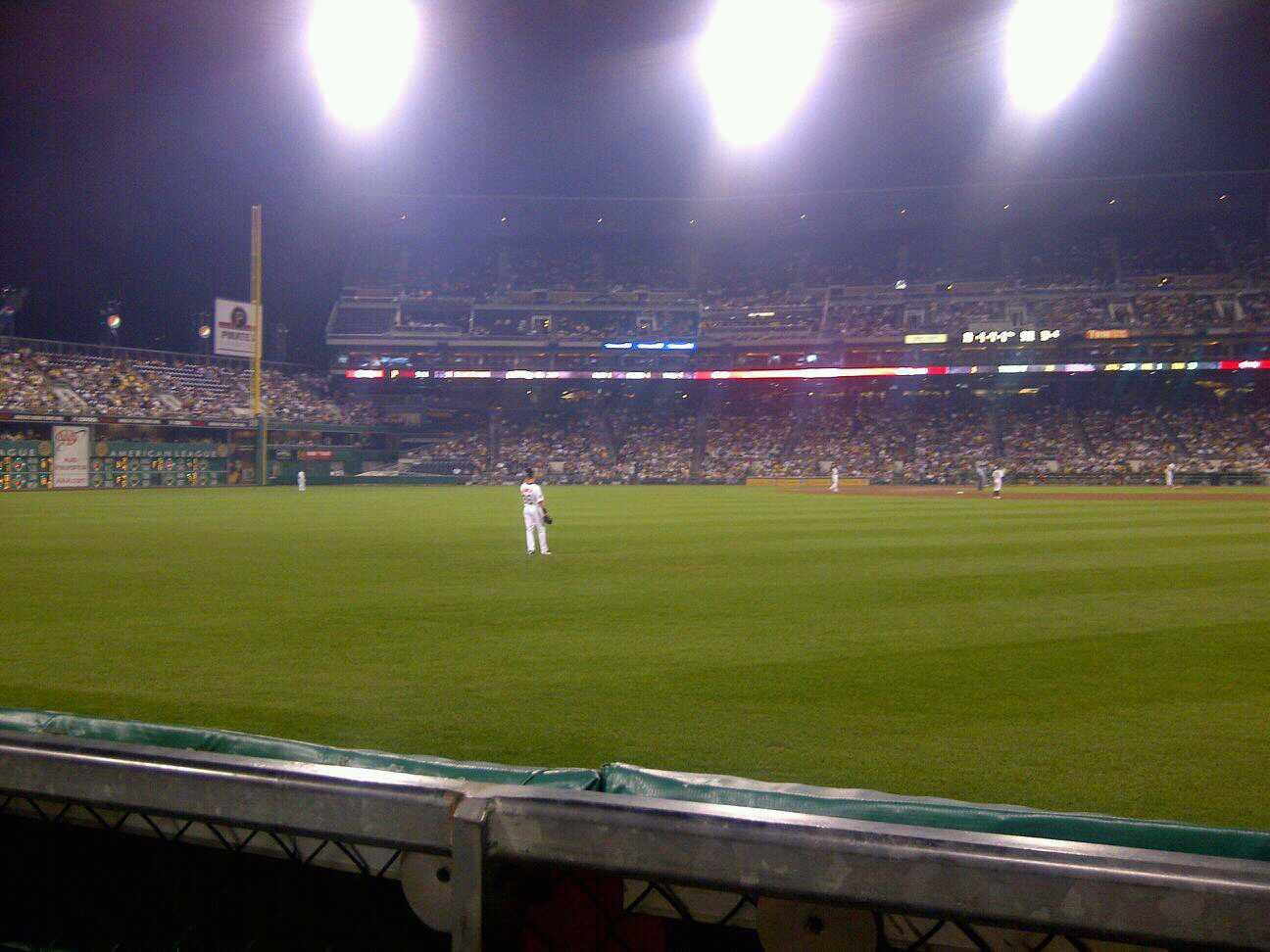 PNC Park Section Left Field