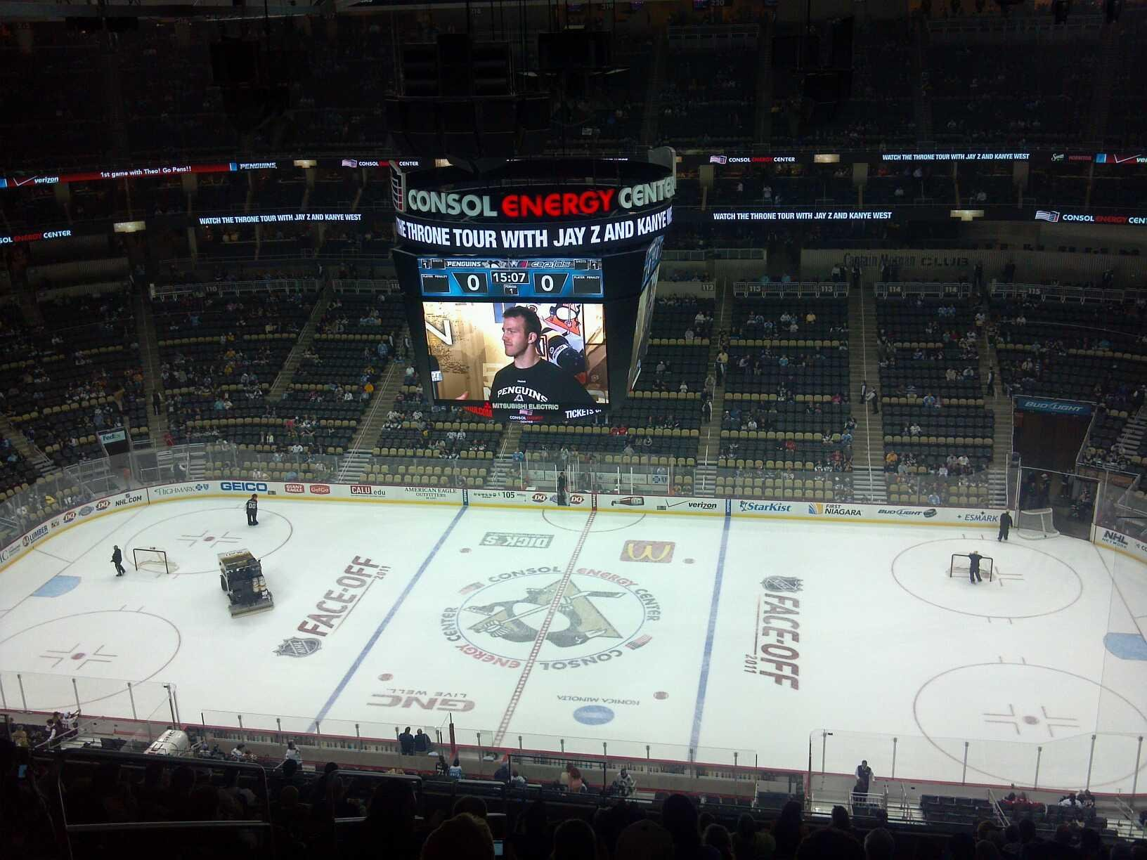 Ppg Paints Arena Section 201 Pittsburgh Penguins