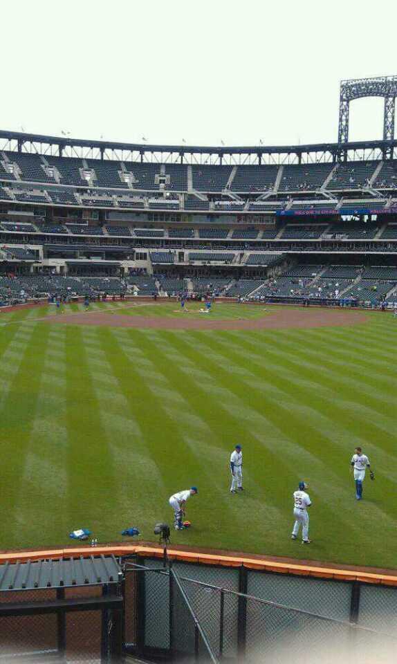 Citi Field Section Centerfield