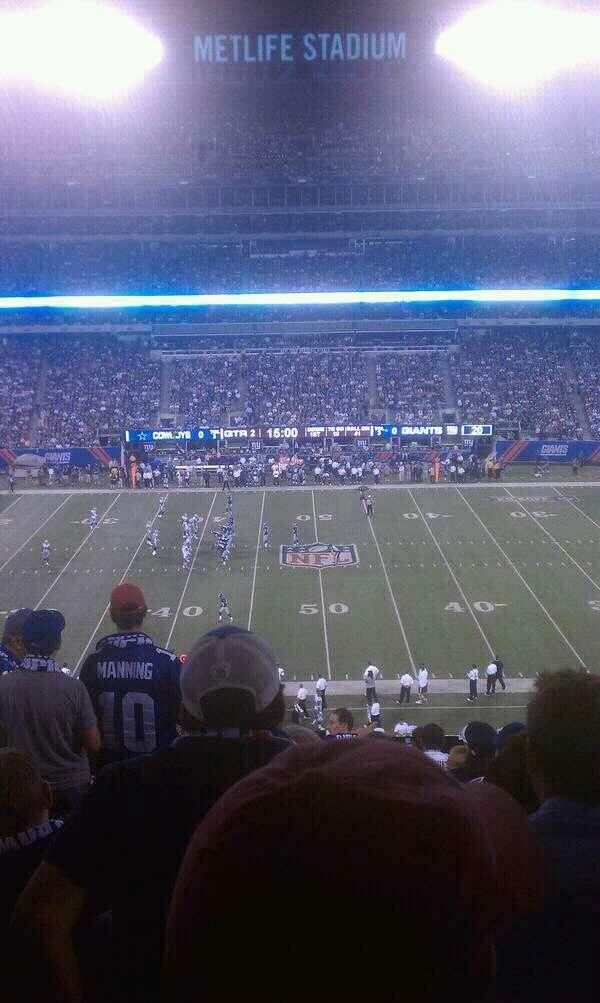 MetLife Stadium Section 239 Row 14 Seat 12