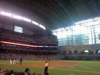 Minute Maid Park Section 128 Row 9 Seat 15