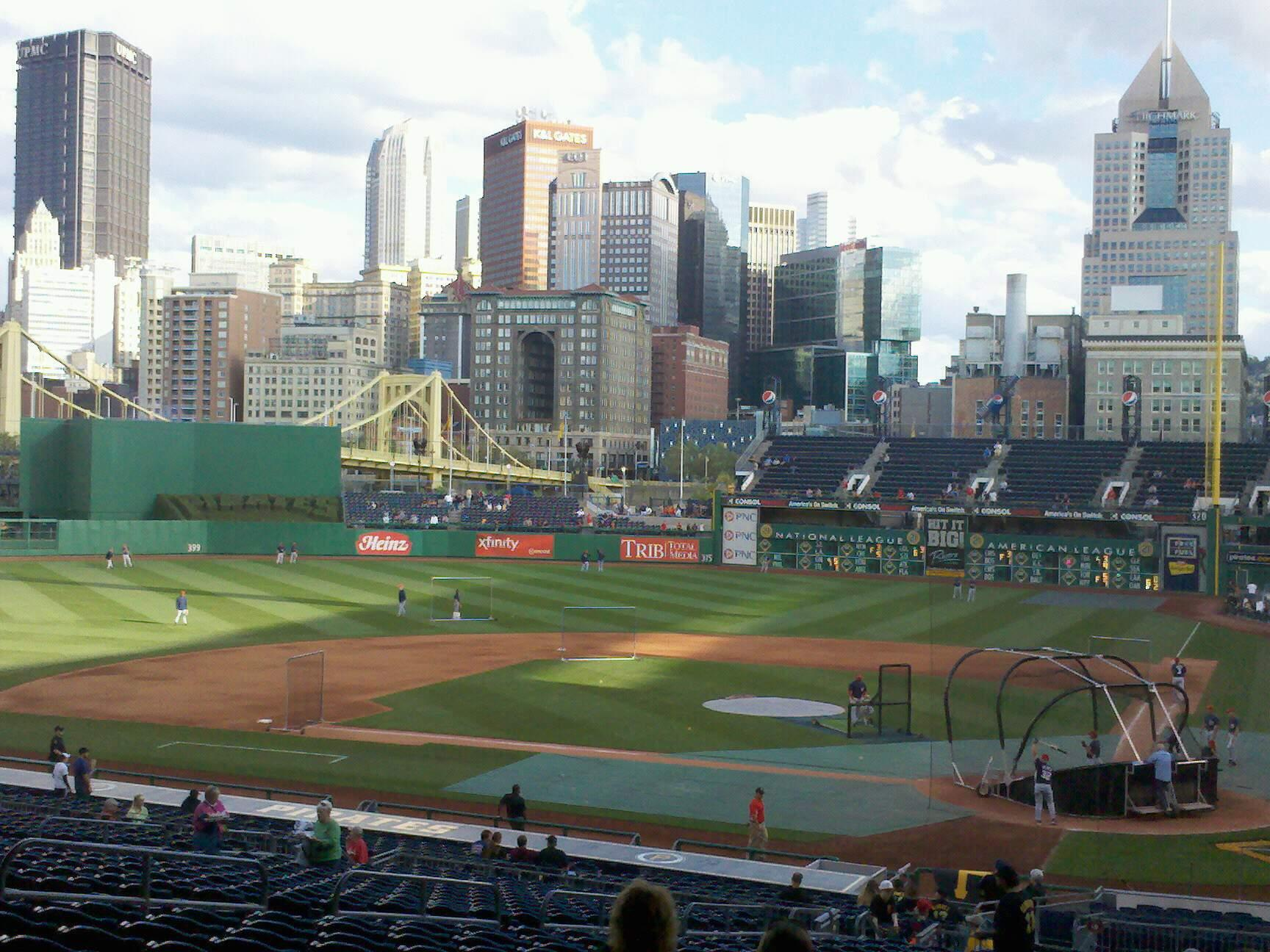 PNC Park Section 119 Row GG Seat 24