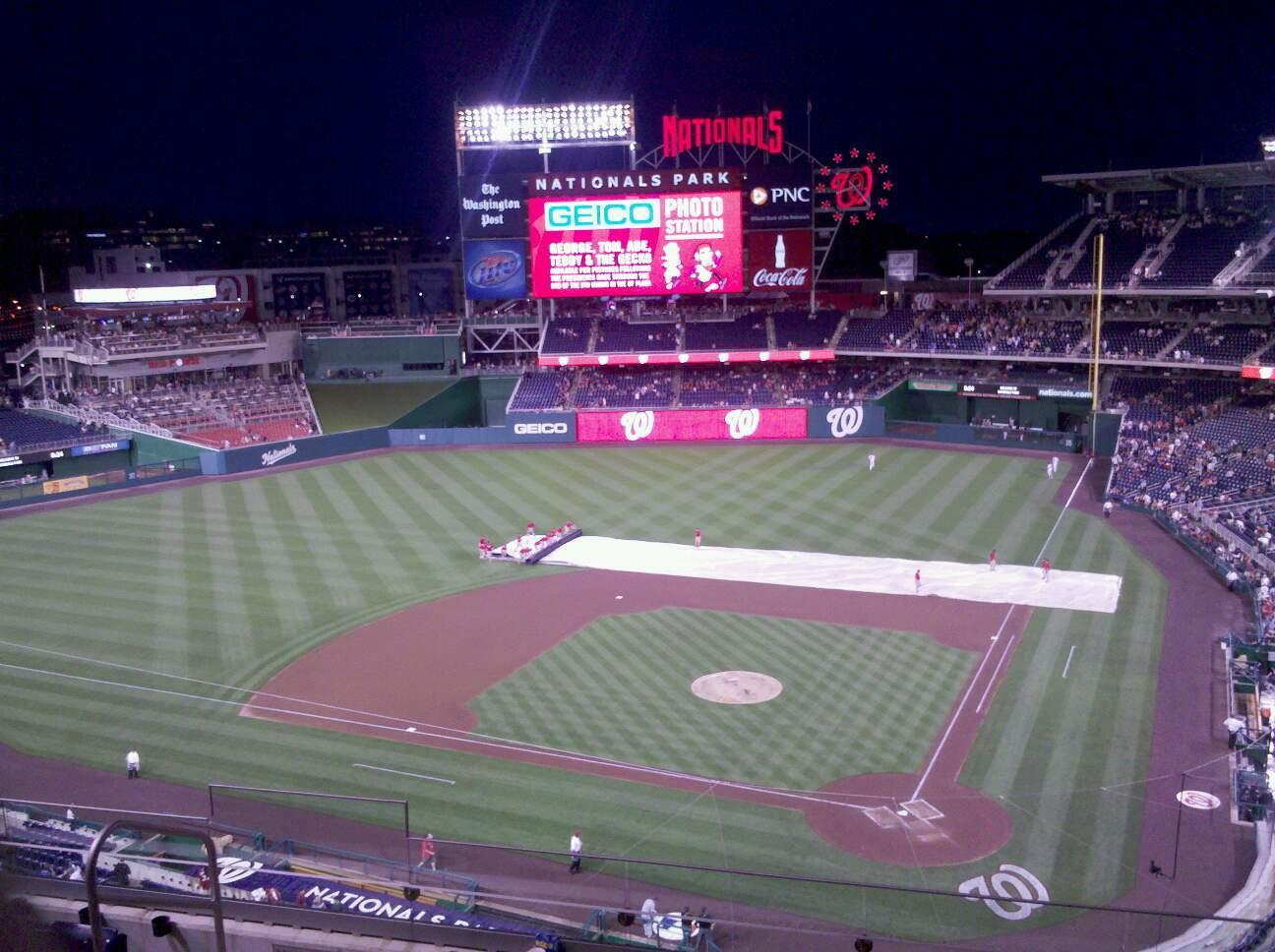 Nationals Park Section 311 Row G Seat 16