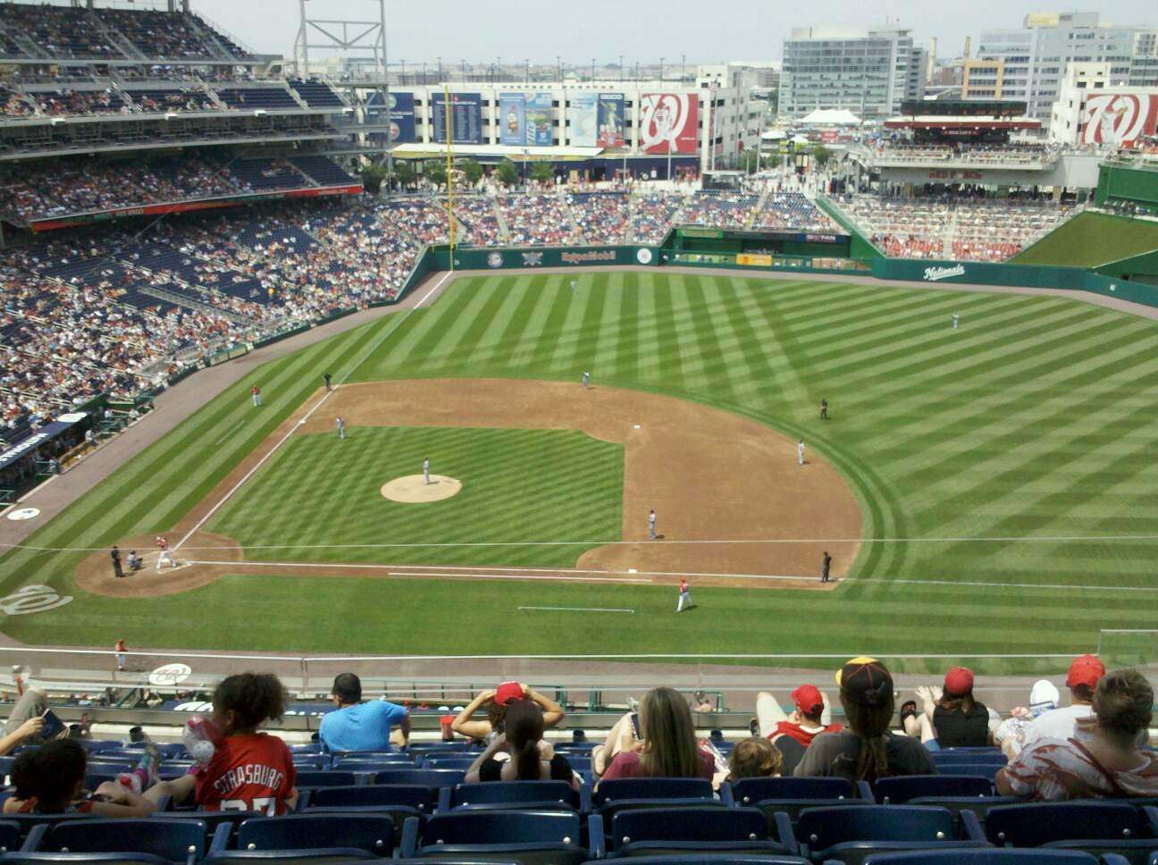 Nationals Park Section 319 Row I Seat 8