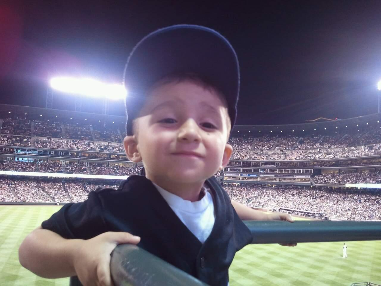 Coors Field Section 156 Row 21 Seat 1