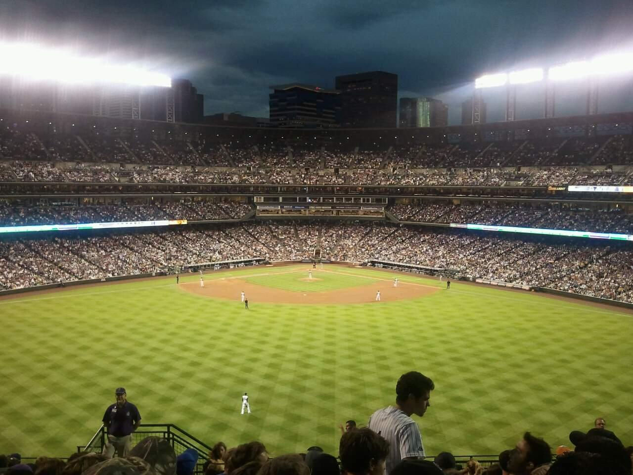 Coors Field Section 402 Row 16 Seat 39