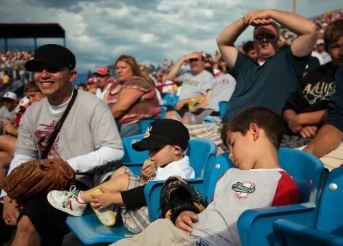 Rosenblatt Stadium Row 1 Seat 4