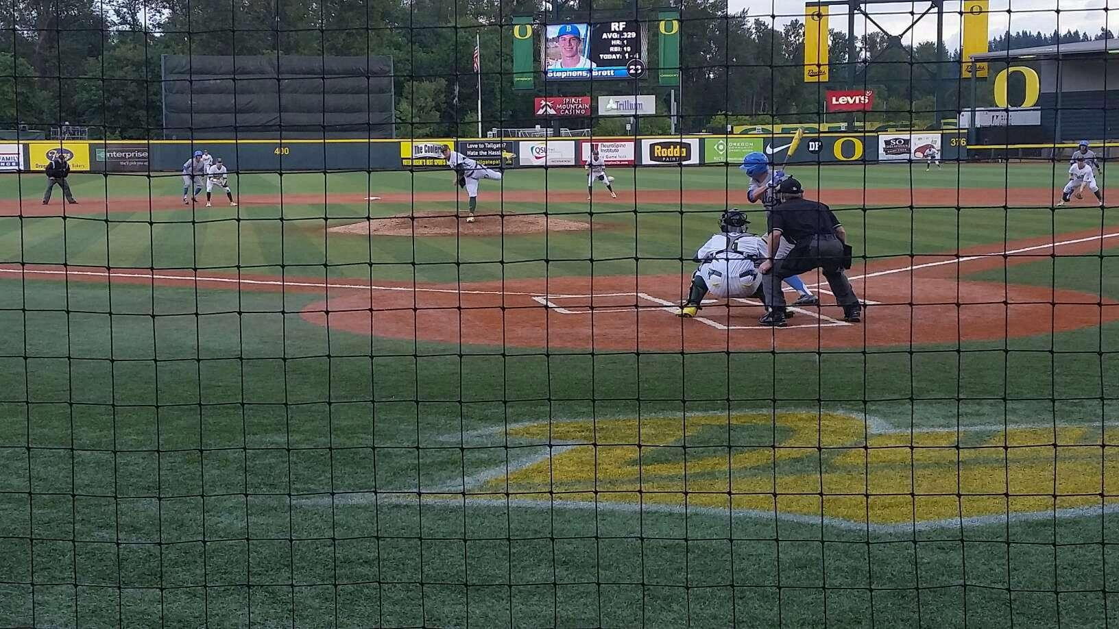 PK Park Section 8 Row 3 Seat 1