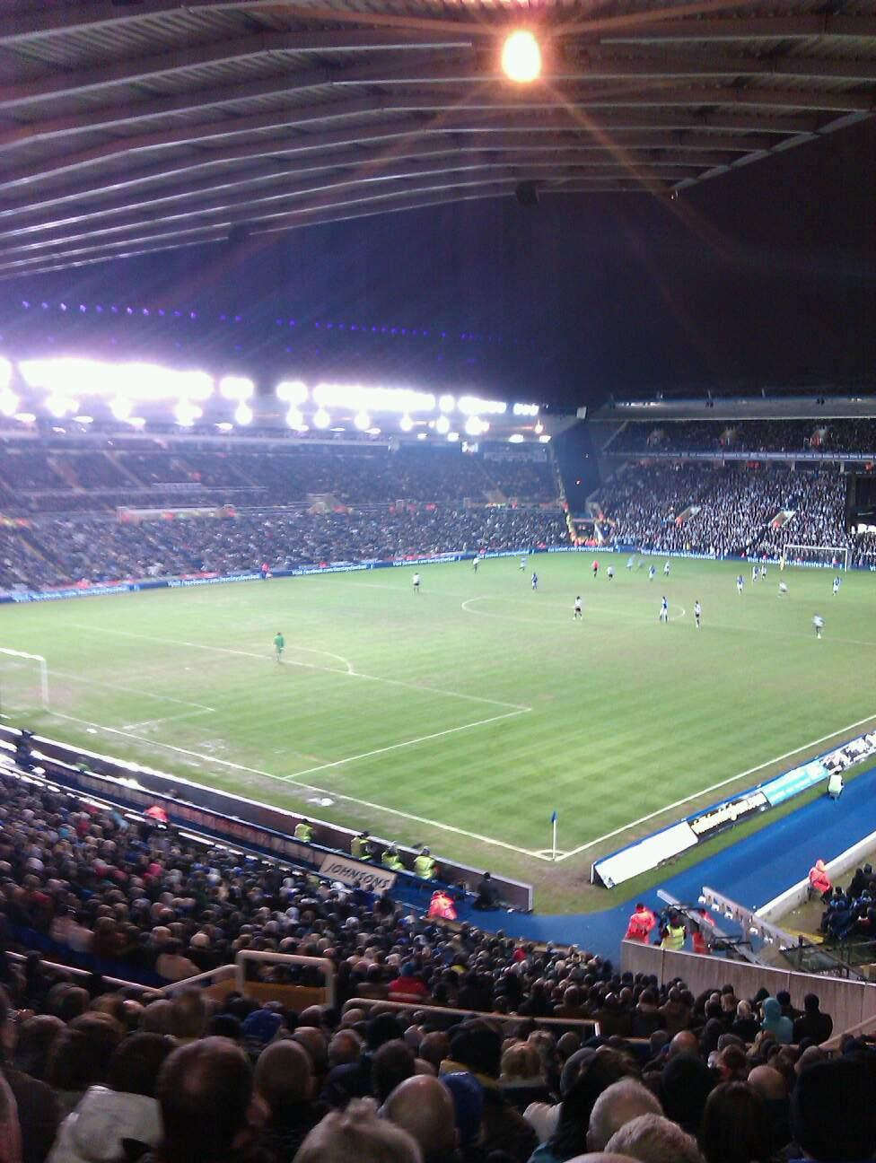 St Andrew's Stadium Section 1 Row 38 Seat 19