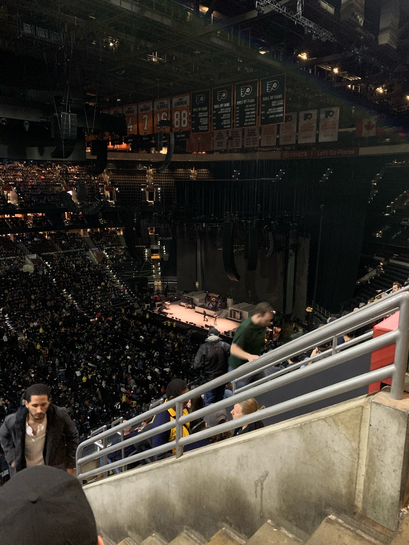 Wells Fargo Center Section 211 Row 7 Seat 16