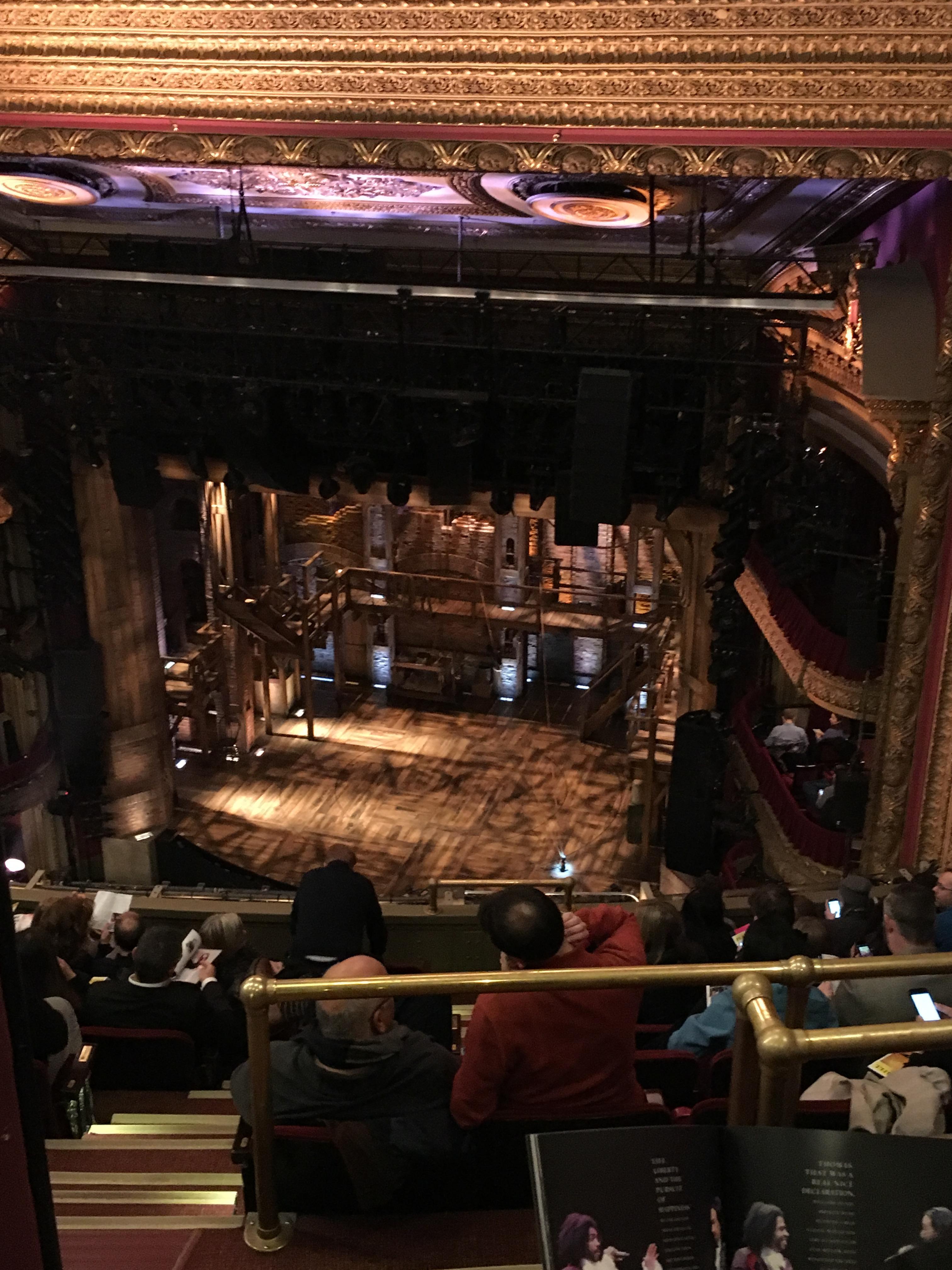 CIBC Theatre Section Balcony R Row K Seat 2