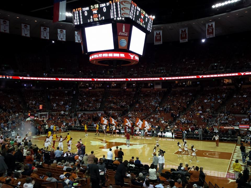 Frank Erwin Center Section 37 Row 22 Seat 9