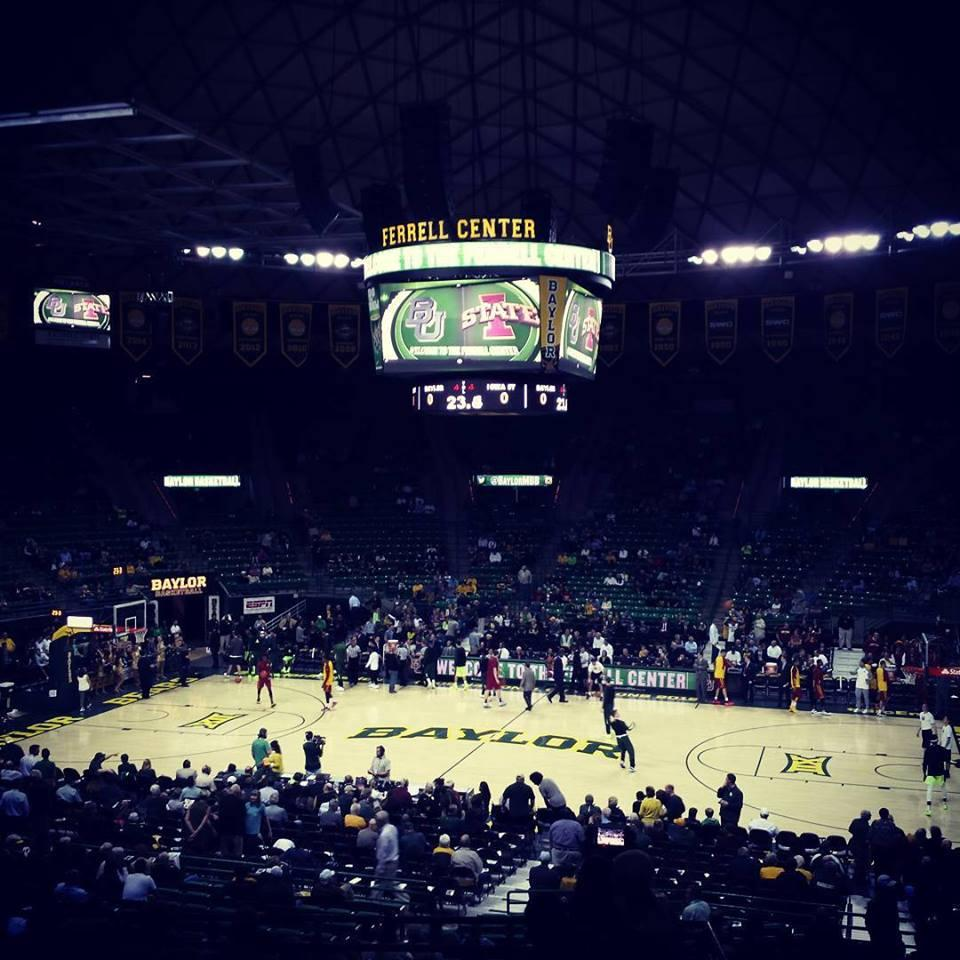 Ferrell Center Section 124 Row 23
