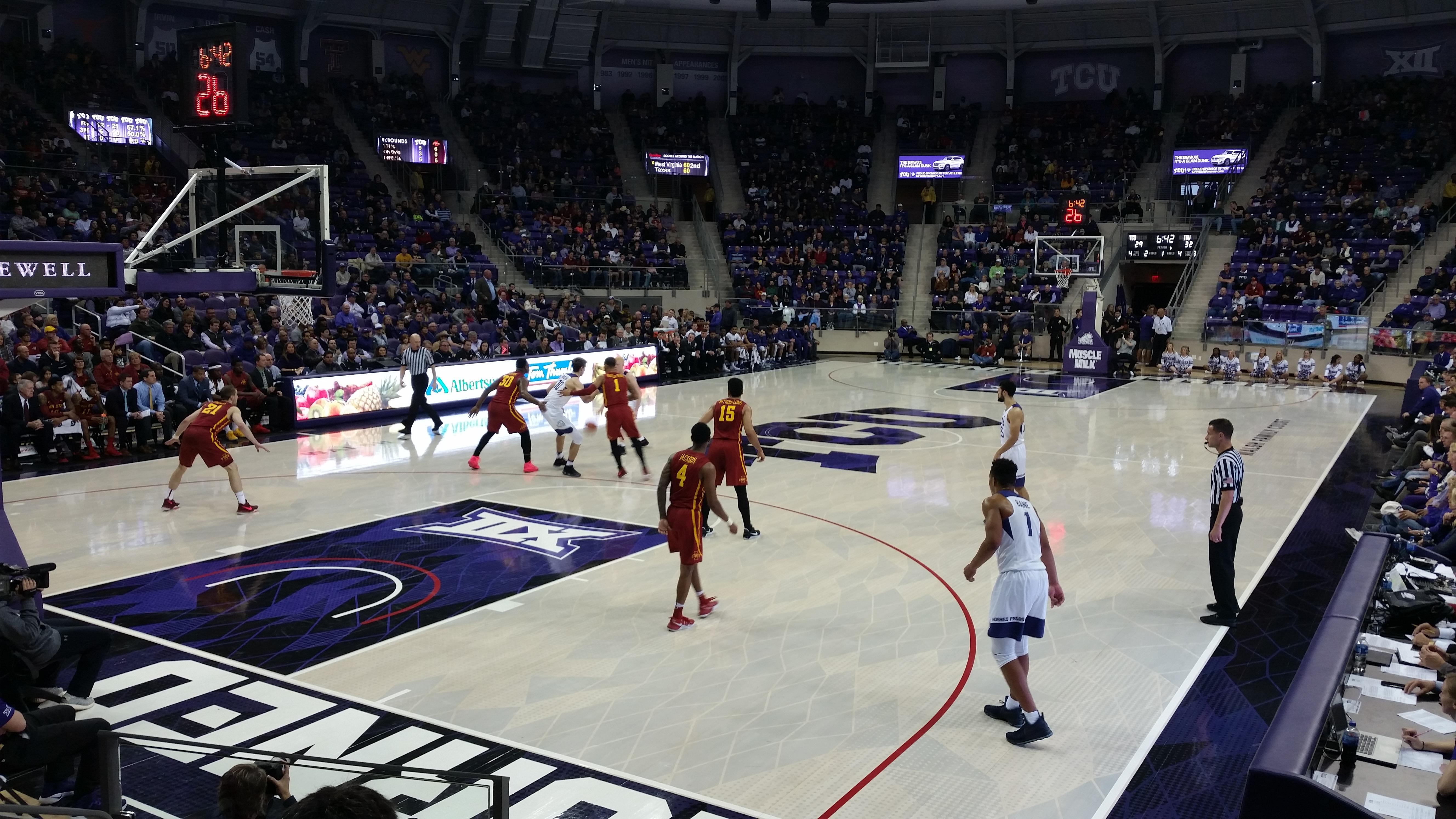 Schollmaier Arena Section 105 Row D Seat 11