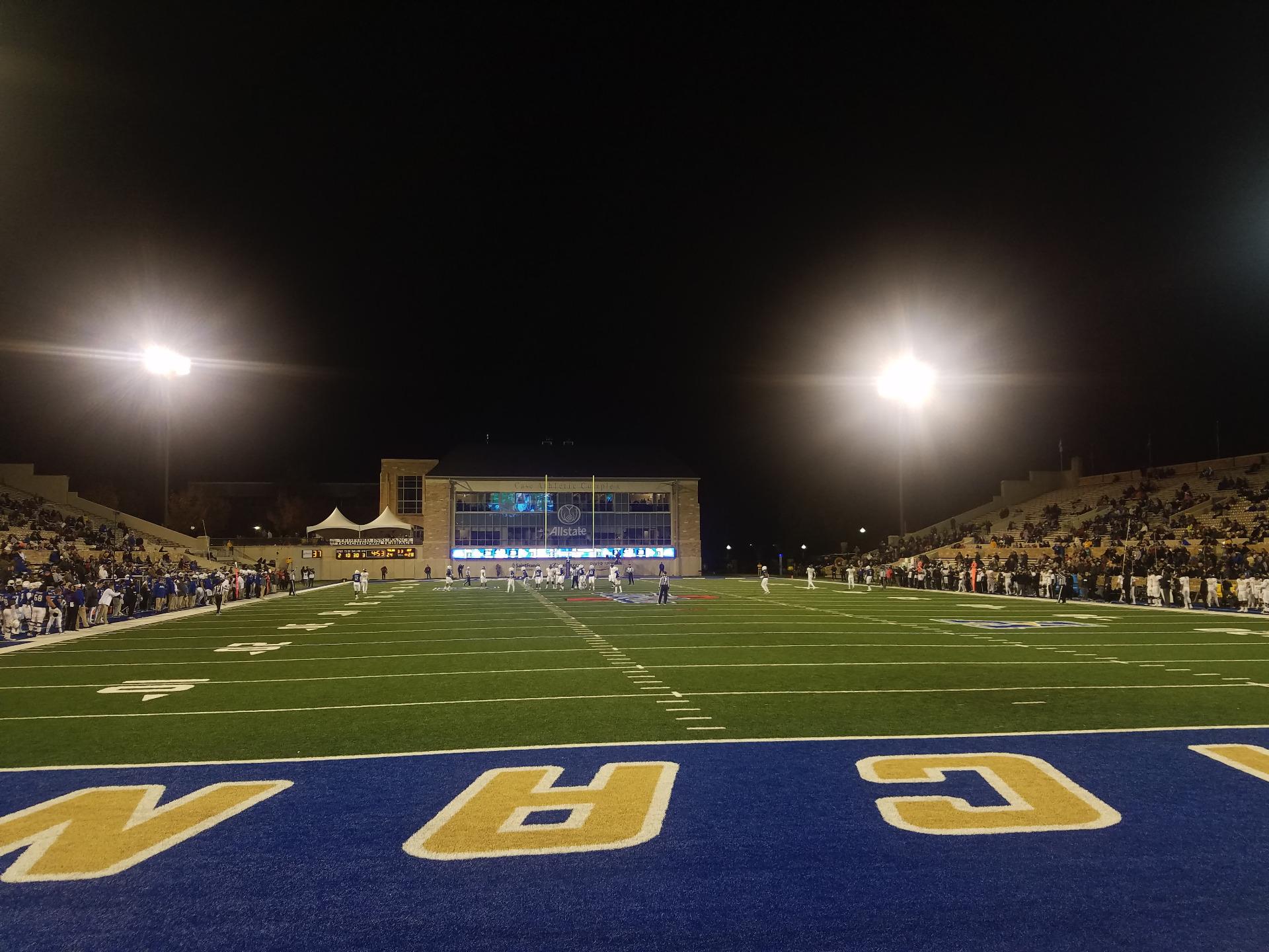 H. A. Chapman Stadium Section 112 Row 3 Seat 4
