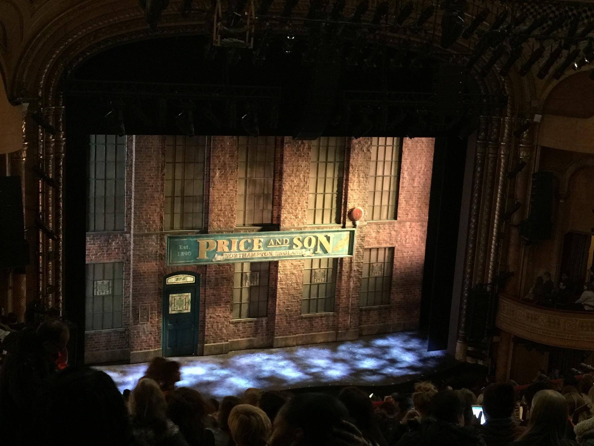 Al Hirschfeld Theatre Section Mezzanine L Row Q Seat 15