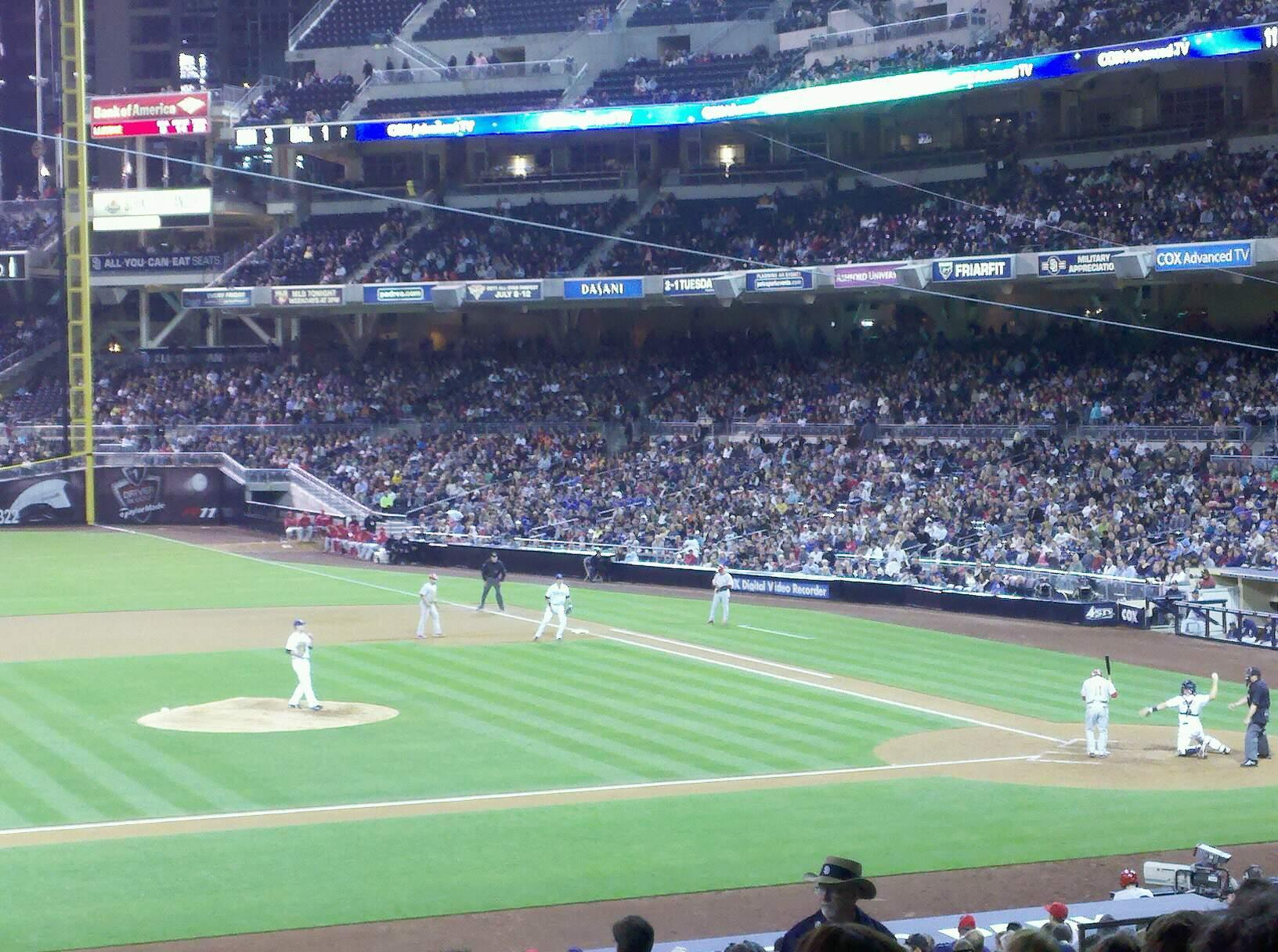 PETCO Park Section 114 Row 20 Seat 16