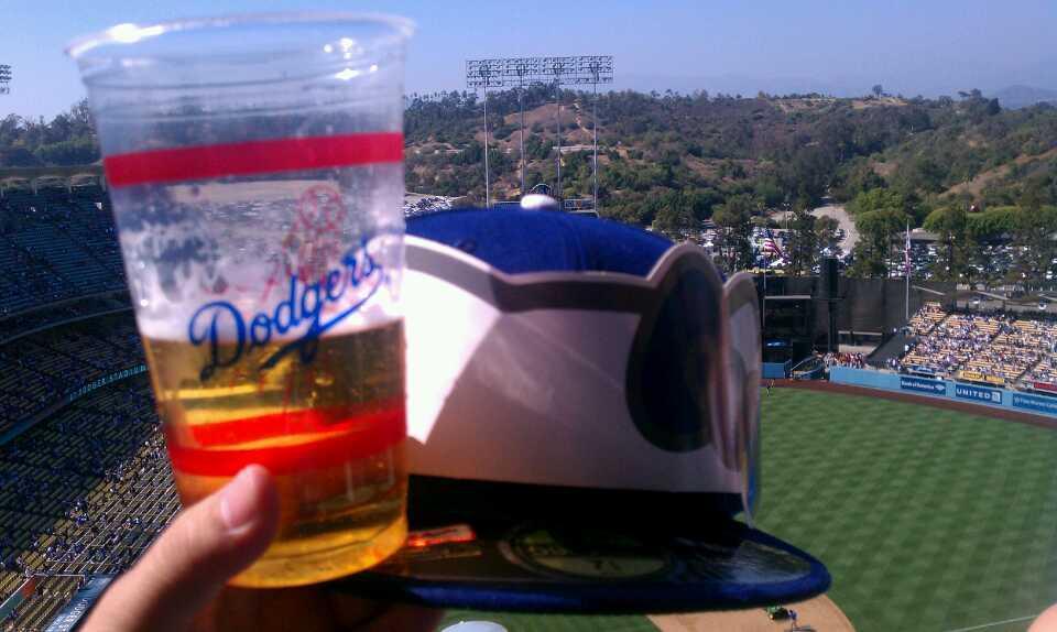 Dodger Stadium Section 8 Row H Seat 16 Los Angeles