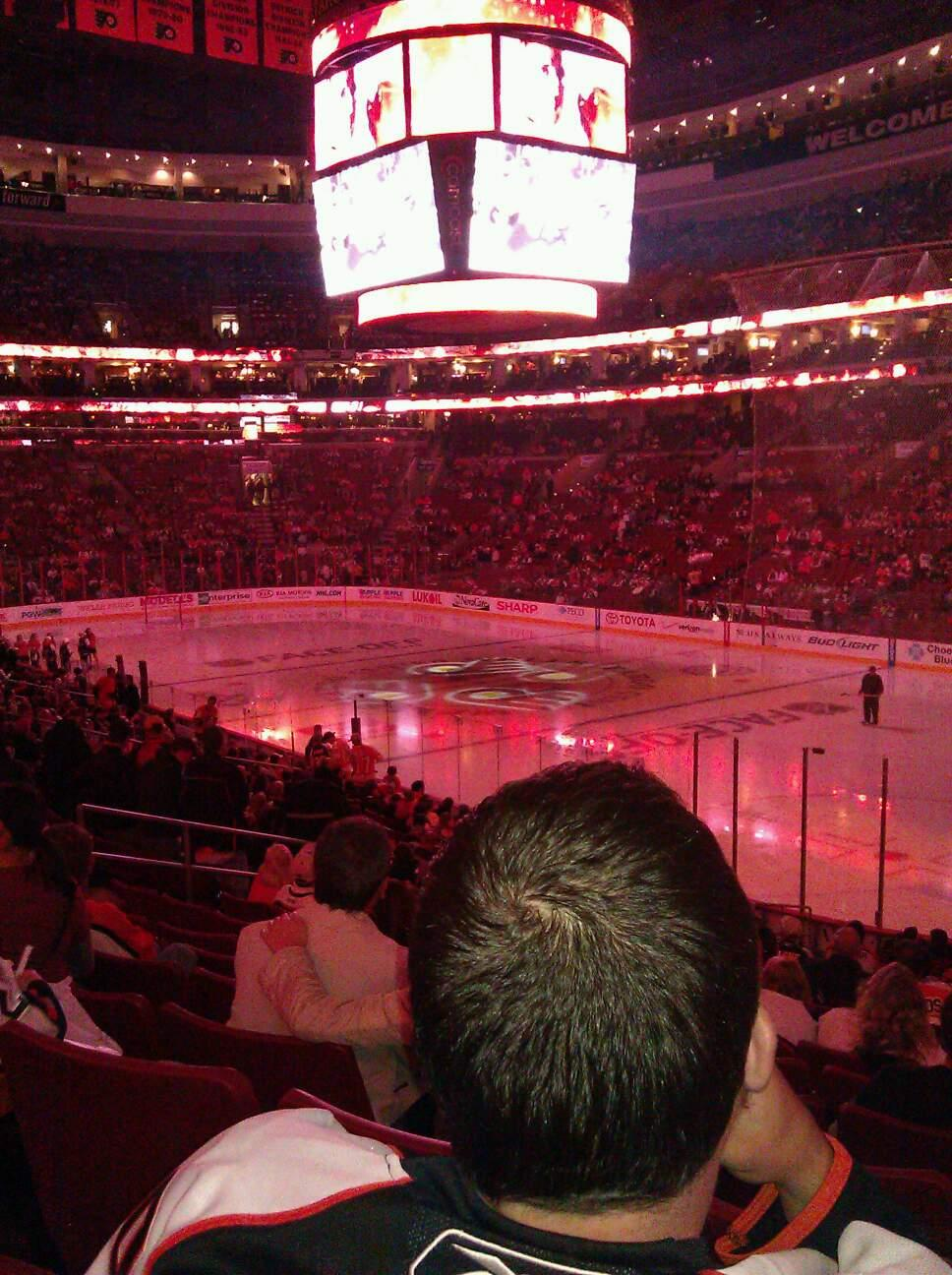 Wells Fargo Center Section 104 Row 21 Seat 11