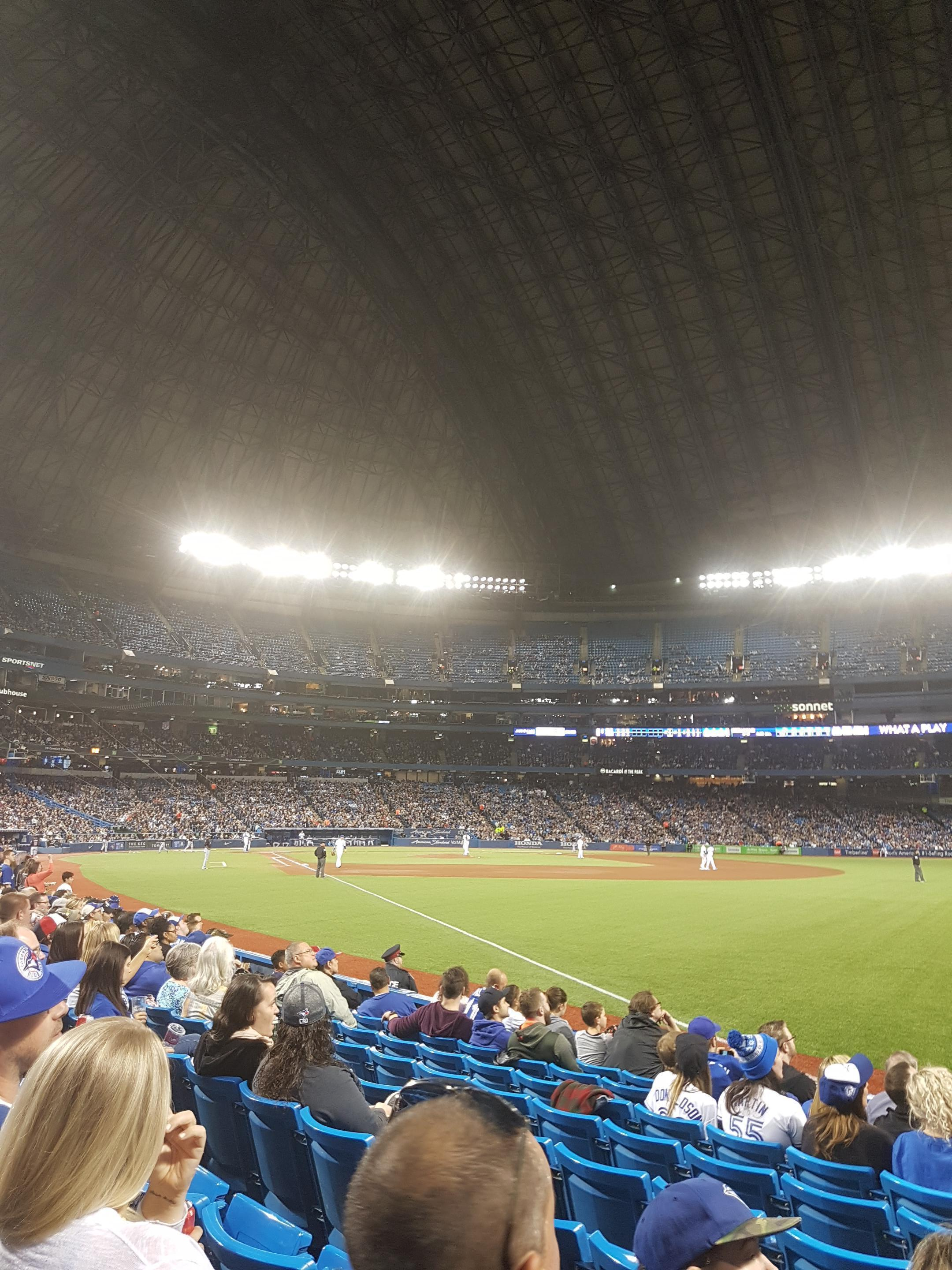 Rogers Centre Section 113dl Row 9 Seat 101