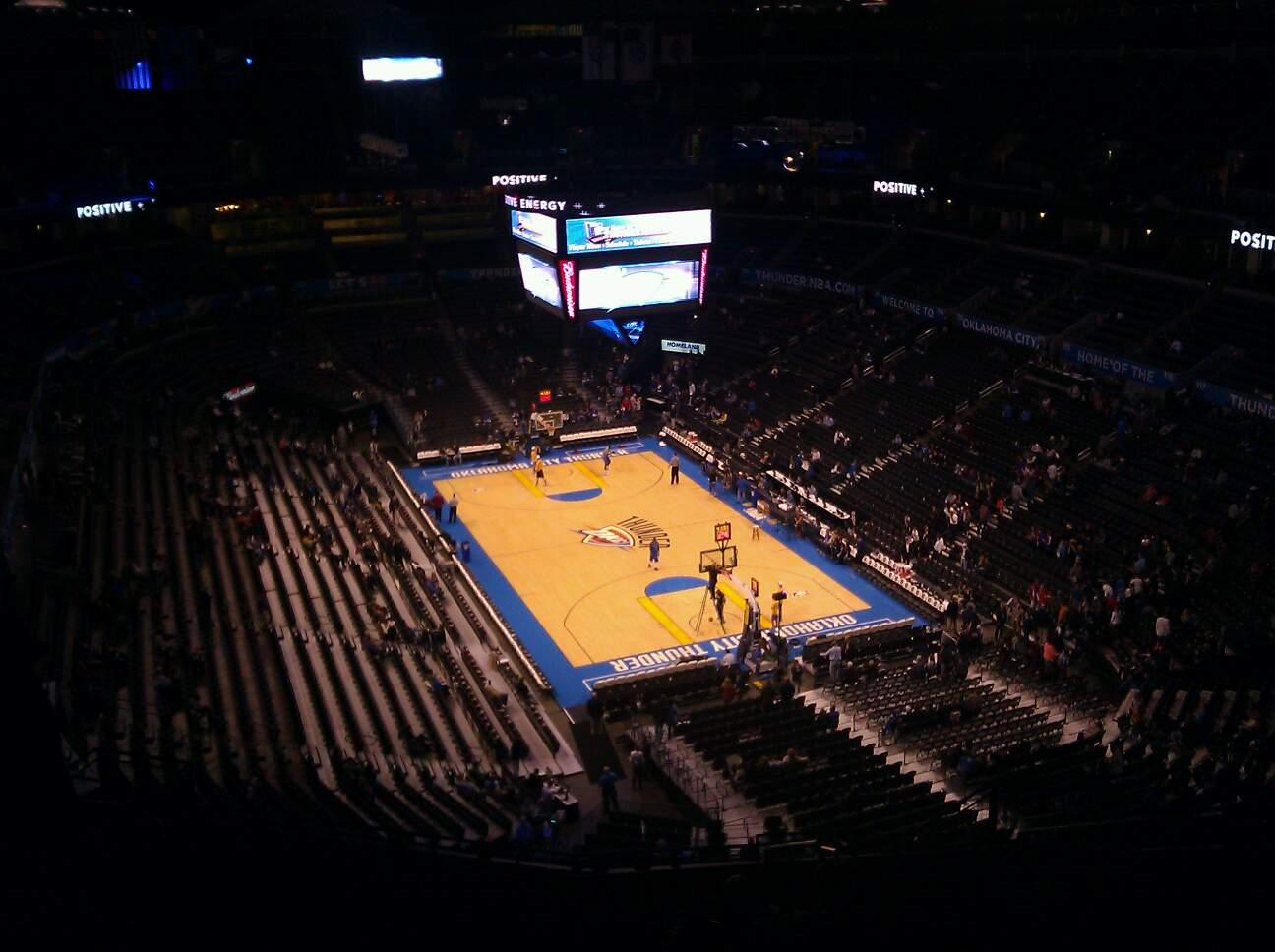 Chesapeake Energy Arena Section 303