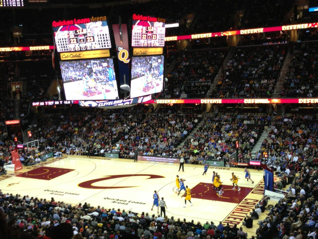 Quicken Loans Arena Section 111 Cleveland Cavaliers