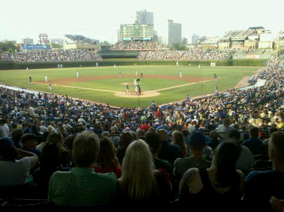 Chicago Cubs - Wrigley Field Section 220 - RateYourSeats.com