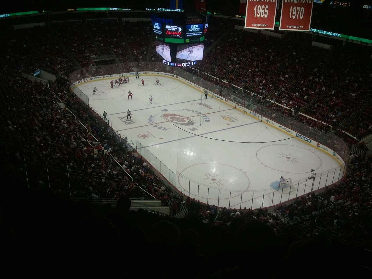 PNC Arena Section 336 Row L Seat 6