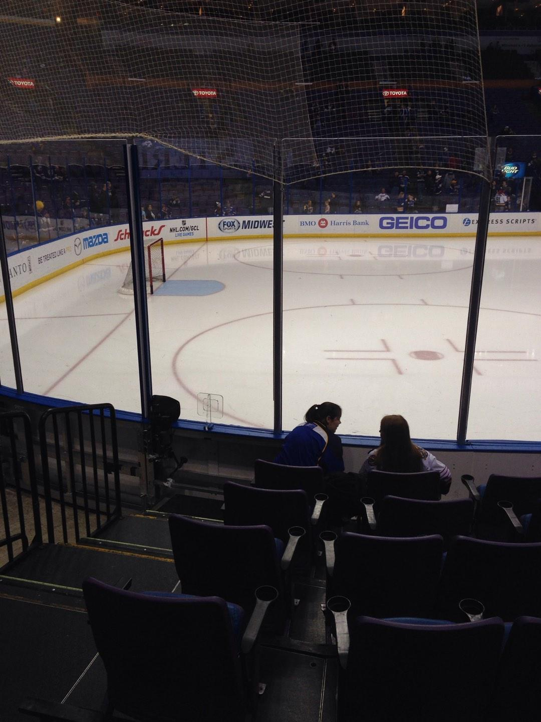 Scottrade Center Section 118 Row G Seat 14