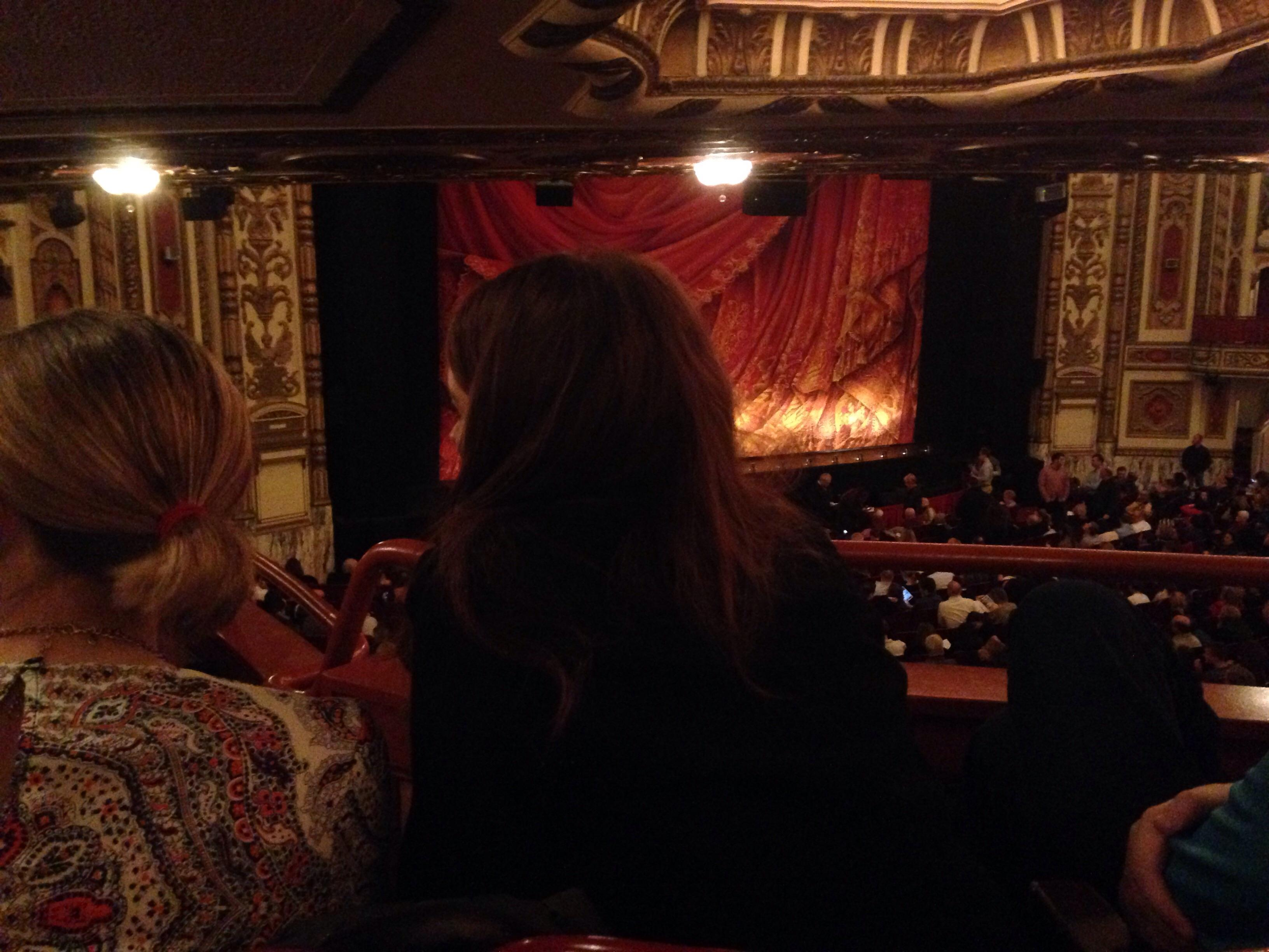 Cadillac Palace Theater Section Dress circle l Row mm Seat 13