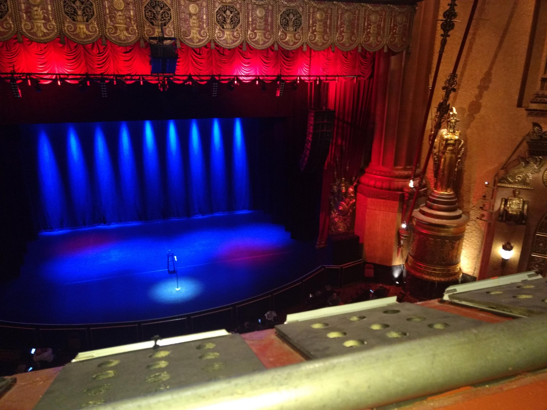 Beacon Theatre Section Lower Balcony C Row A Seat 104
