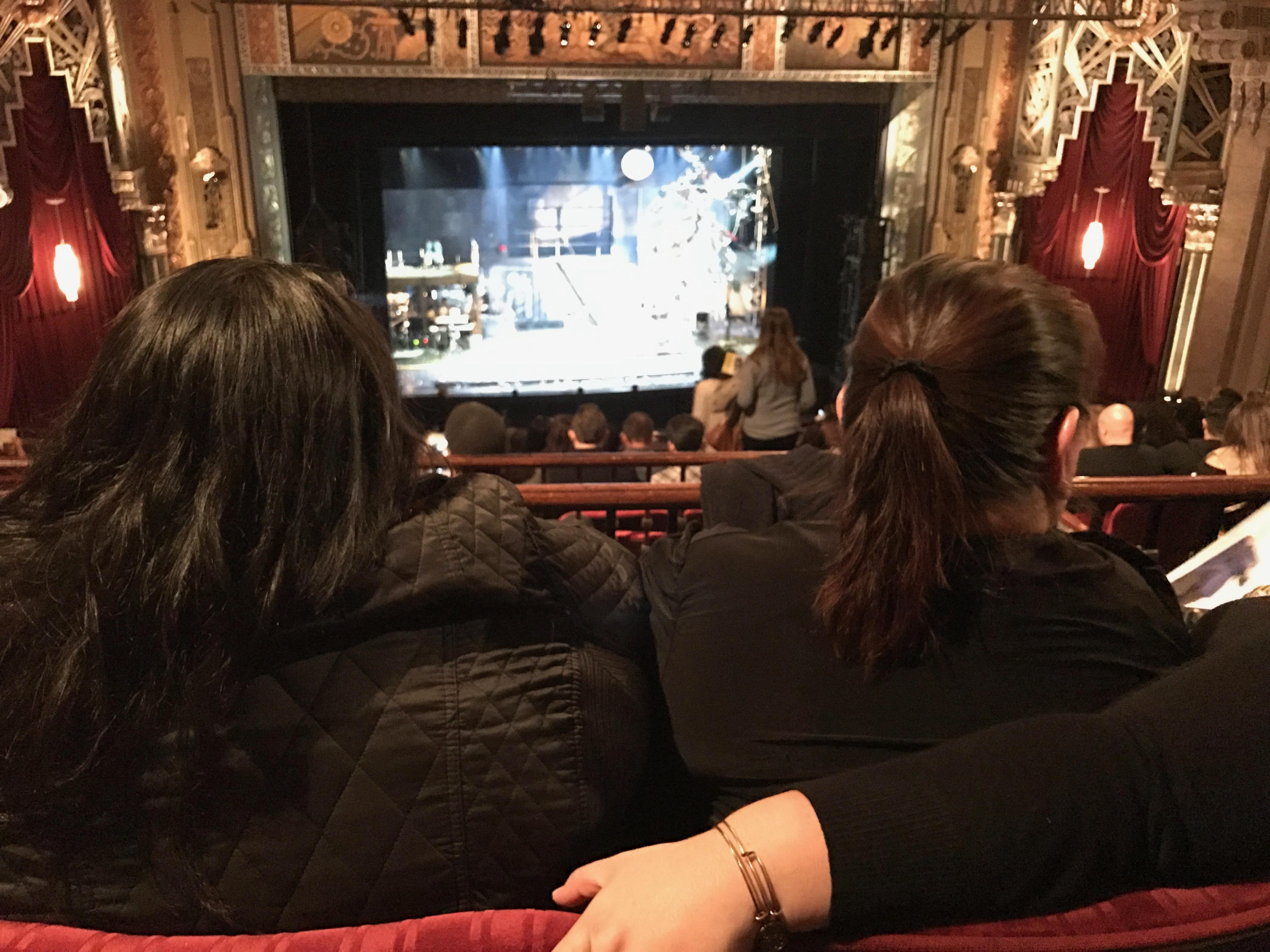 Hollywood Pantages Theatre Section Mezzanine LC Row K Seat 303