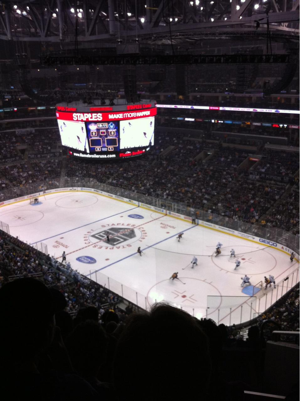 Staples Center Section 331 - Los Angeles Kings ...