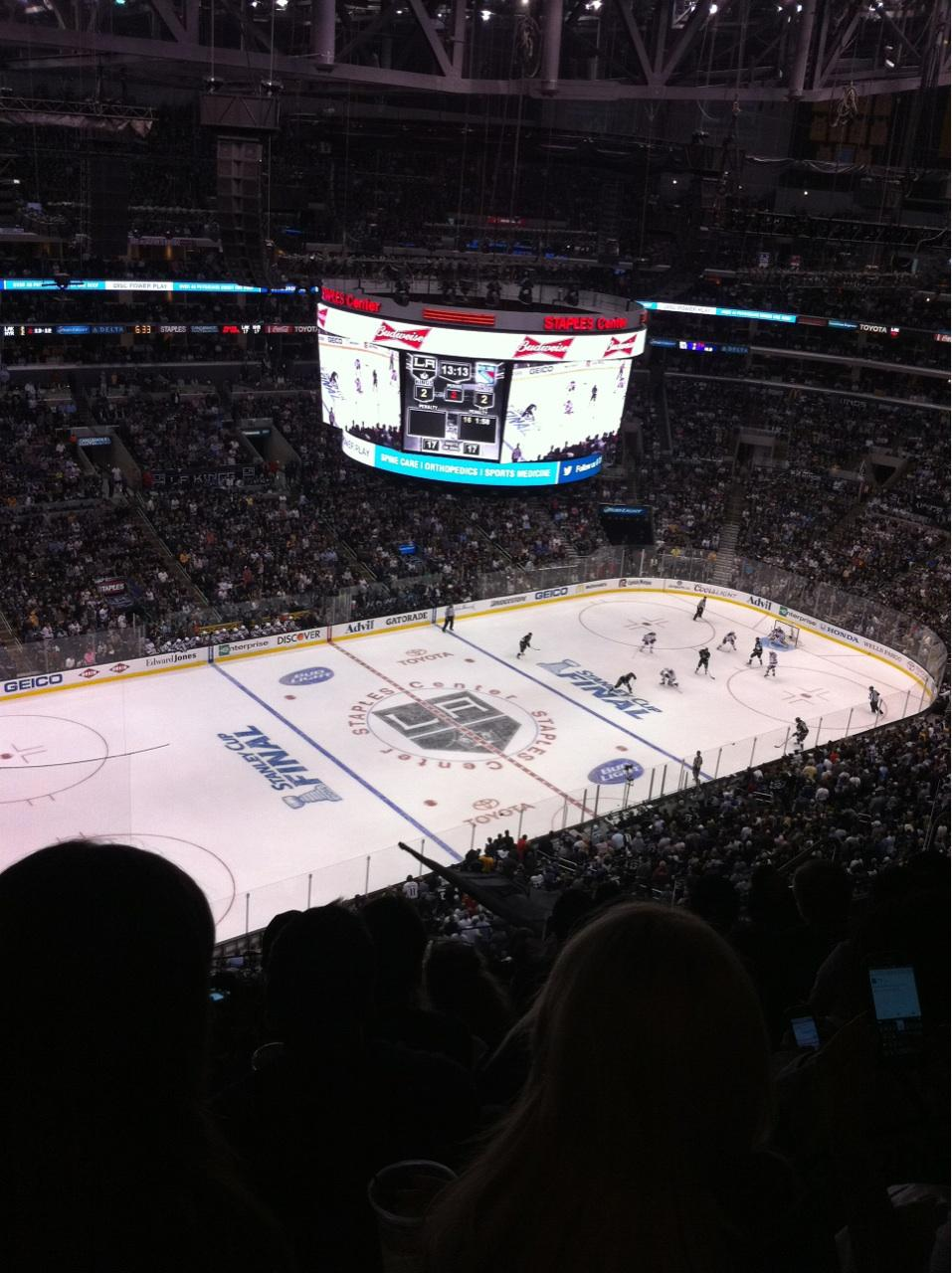 Staples Center Section 321 - Los Angeles Kings ...