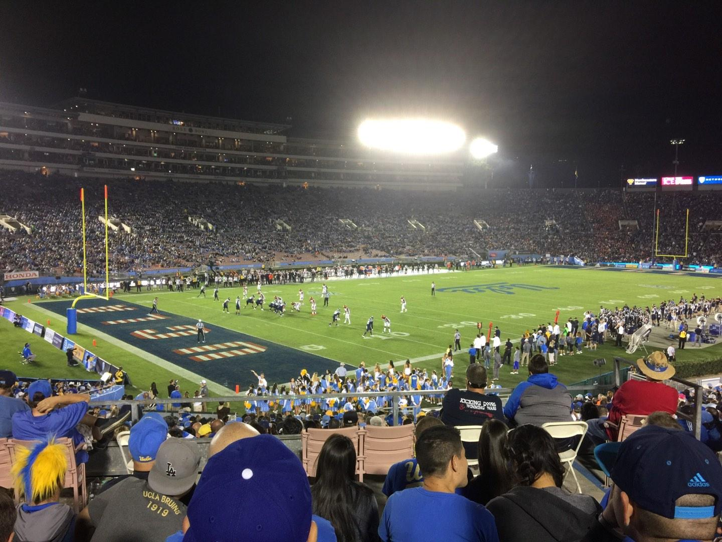 Rose Bowl Section 1-L Row 35 Seat 6