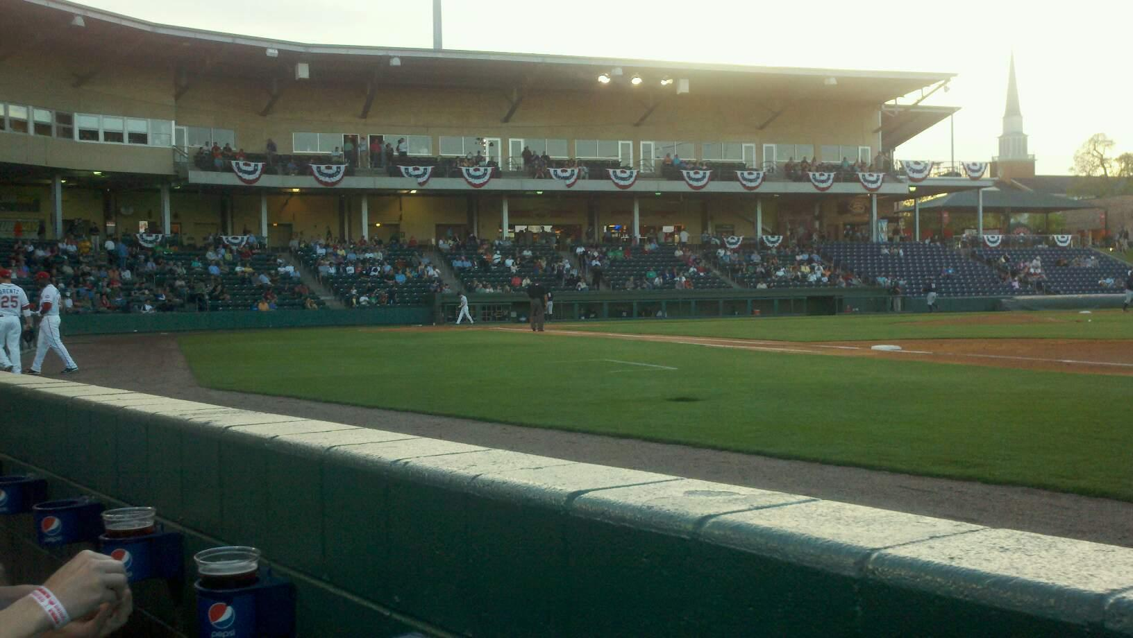 Fluor Field Section 115 Row a Seat 8